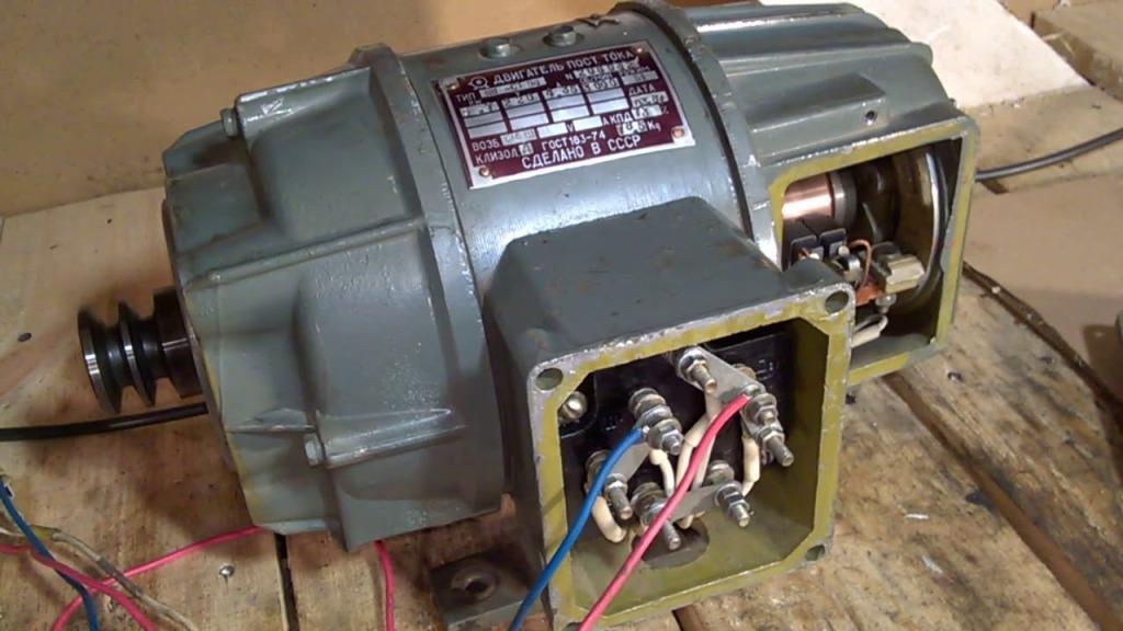 Перемотка электродвигателей постоянного тока