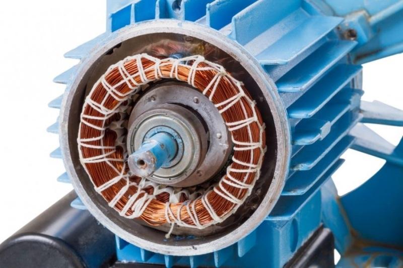 Перемотка ротора электродвигателя