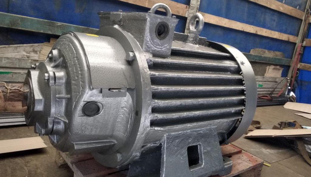 Ремонт крановых электродвигателей