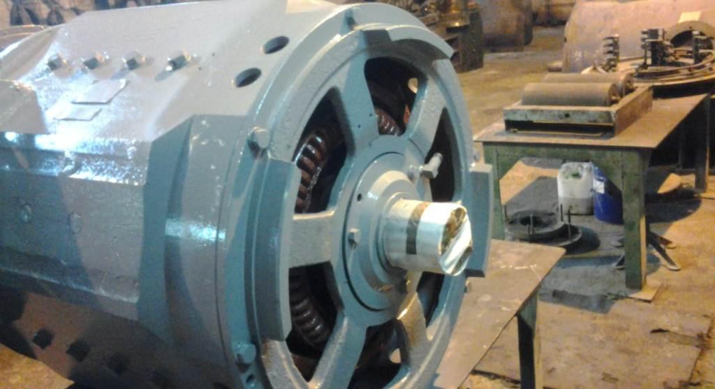 Ремонт тяговых электродвигателей
